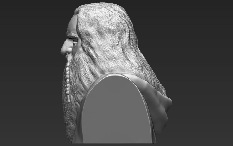 Gimli Lord of the Rings bust 3D printing ready stl obj 3D Print 231064