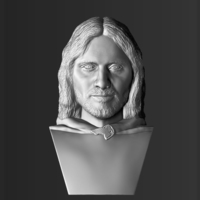 Small Aragorn bust Lord of the Rings 3D printing ready stl obj 3D Printing 231102