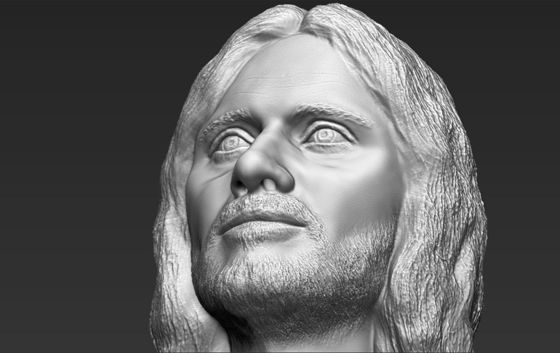 Aragorn bust Lord of the Rings 3D printing ready stl obj 3D Print 231113