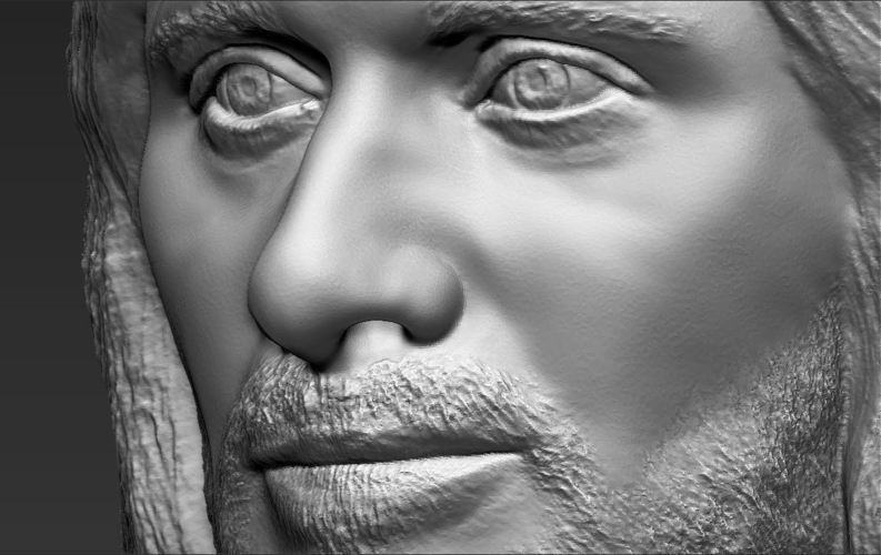 Aragorn bust Lord of the Rings for full color 3D printing 3D Print 231137