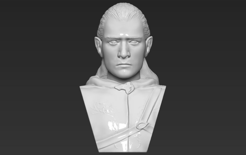 Legolas bust Lord of the Rings 3D printing ready stl obj 3D Print 231140