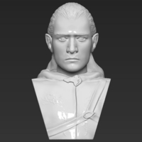 Small Legolas bust Lord of the Rings 3D printing ready stl obj 3D Printing 231140
