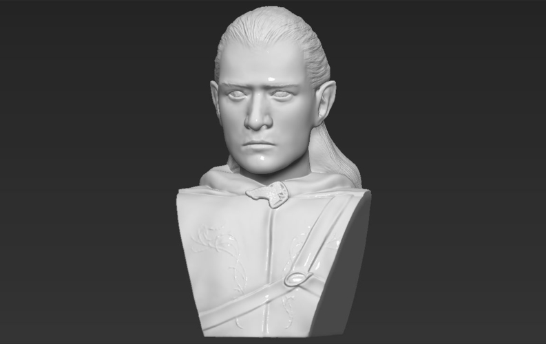 Legolas bust Lord of the Rings 3D printing ready stl obj 3D Print 231141
