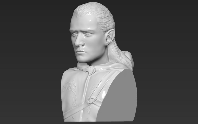Legolas bust Lord of the Rings 3D printing ready stl obj 3D Print 231142