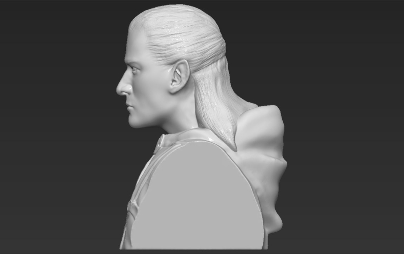 Legolas bust Lord of the Rings 3D printing ready stl obj 3D Print 231147