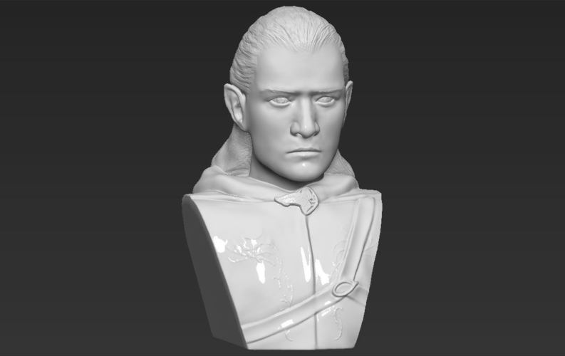 Legolas bust Lord of the Rings 3D printing ready stl obj 3D Print 231149