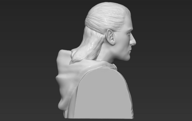Legolas bust Lord of the Rings 3D printing ready stl obj 3D Print 231150