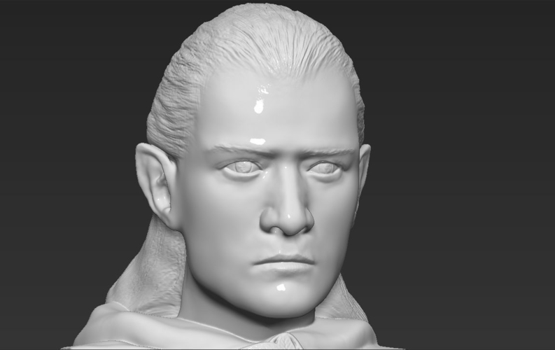Legolas bust Lord of the Rings 3D printing ready stl obj 3D Print 231152
