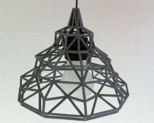 Wire lamp 01 3D Print 23121