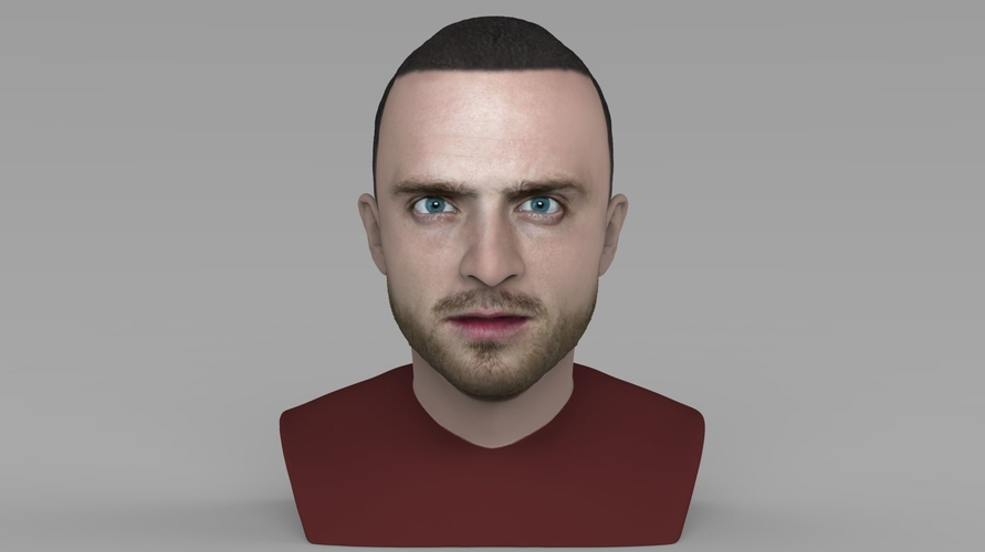 Jesse Pinkman Breaking Bad bust ready for full color 3D printing 3D Print 231338