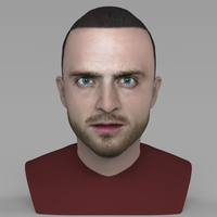 Small Jesse Pinkman Breaking Bad bust ready for full color 3D printing 3D Printing 231338