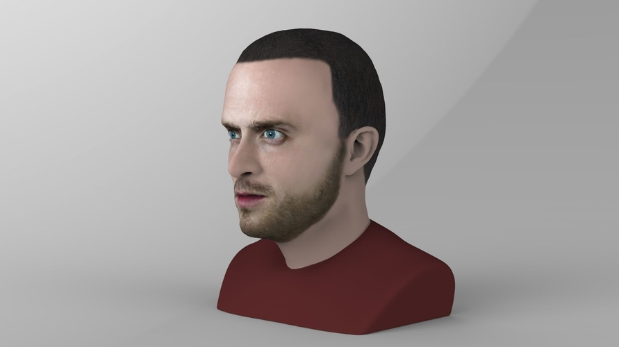 Jesse Pinkman Breaking Bad bust ready for full color 3D printing 3D Print 231340