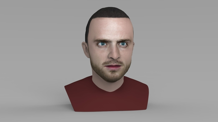 Jesse Pinkman Breaking Bad bust ready for full color 3D printing 3D Print 231345