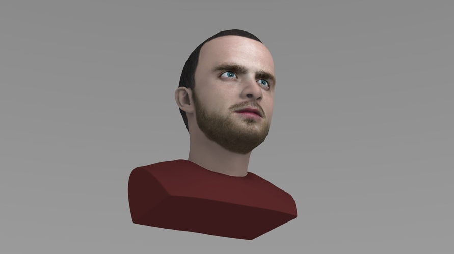 Jesse Pinkman Breaking Bad bust ready for full color 3D printing 3D Print 231346