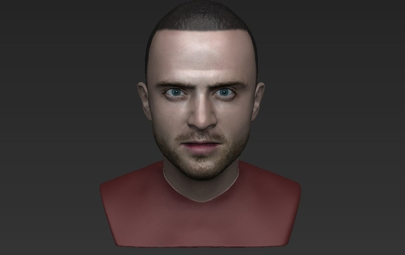 Jesse Pinkman Breaking Bad bust ready for full color 3D printing 3D Print 231347