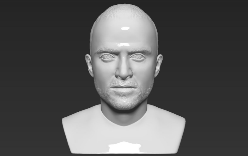 Jesse Pinkman Breaking Bad bust ready for full color 3D printing 3D Print 231350