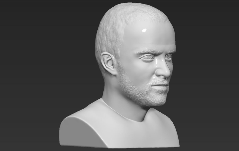 Jesse Pinkman Breaking Bad bust ready for full color 3D printing 3D Print 231355