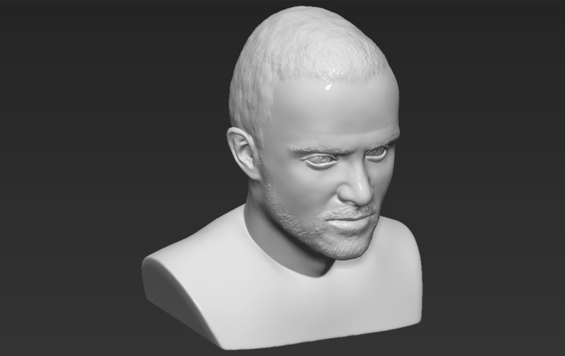 Jesse Pinkman Breaking Bad bust ready for full color 3D printing 3D Print 231356