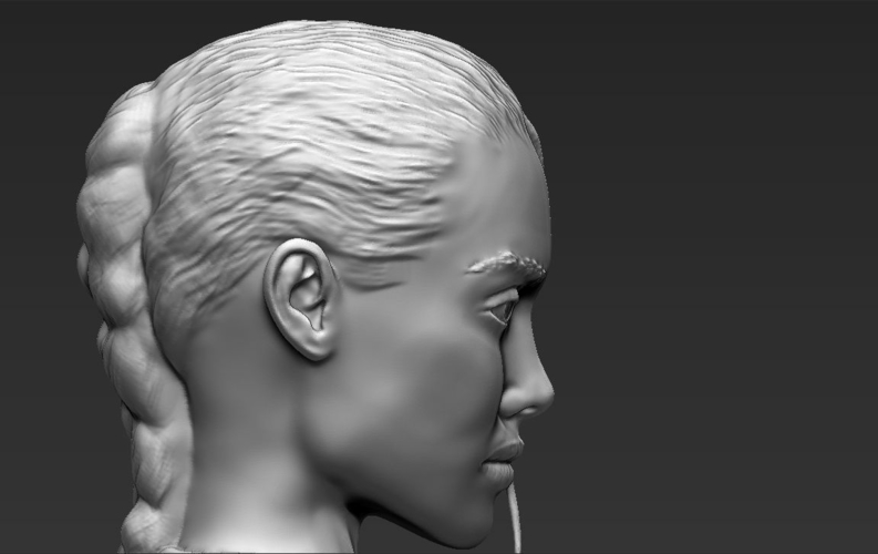 Lara Croft Angelina Jolie bust ready for full color 3D printing 3D Print 231507