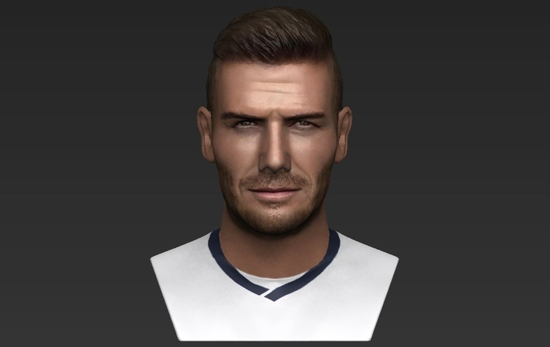 David Beckham bust ready for full color 3D printing 3D Print 231629