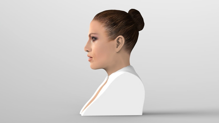 Jennifer Lopez bust ready for full color 3D printing 3D Print 231660