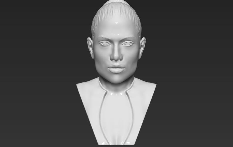 Jennifer Lopez bust ready for full color 3D printing 3D Print 231669