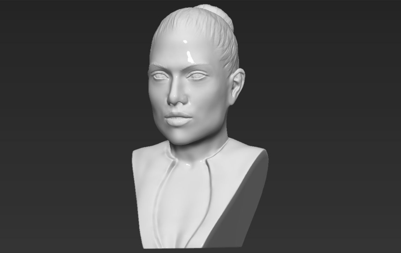 Jennifer Lopez bust ready for full color 3D printing 3D Print 231670