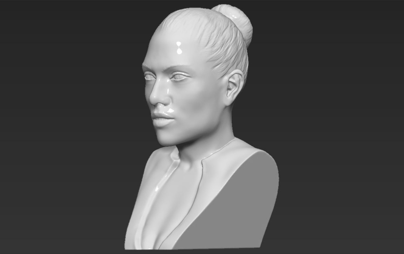 Jennifer Lopez bust ready for full color 3D printing 3D Print 231671