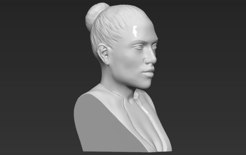 Jennifer Lopez bust ready for full color 3D printing 3D Print 231672