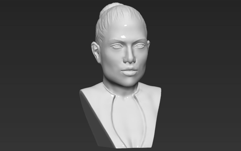 Jennifer Lopez bust ready for full color 3D printing 3D Print 231674
