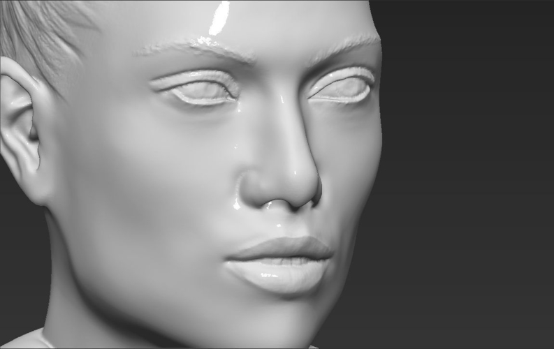 Jennifer Lopez bust ready for full color 3D printing 3D Print 231676