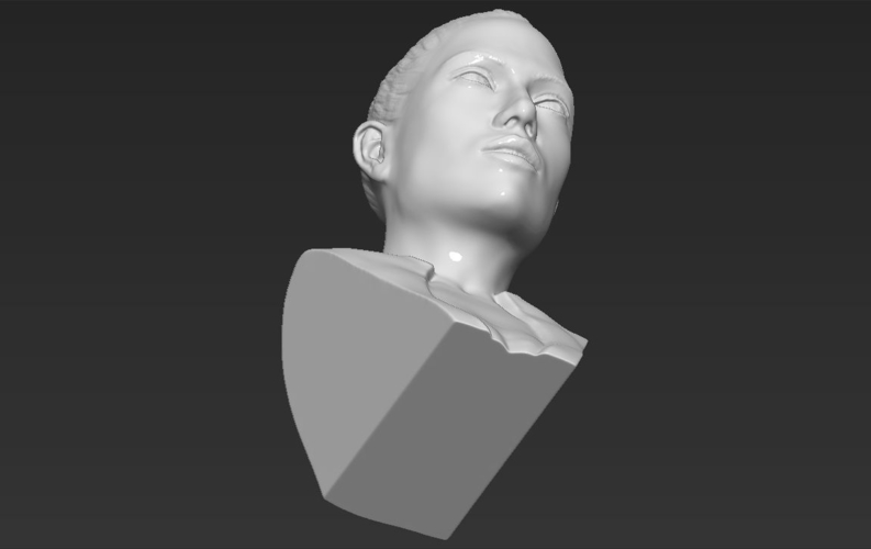 Jennifer Lopez bust ready for full color 3D printing 3D Print 231679