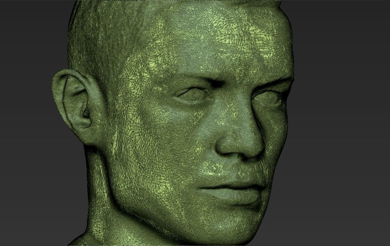 Cristiano Ronaldo bust ready for full color 3D printing 3D Print 231719
