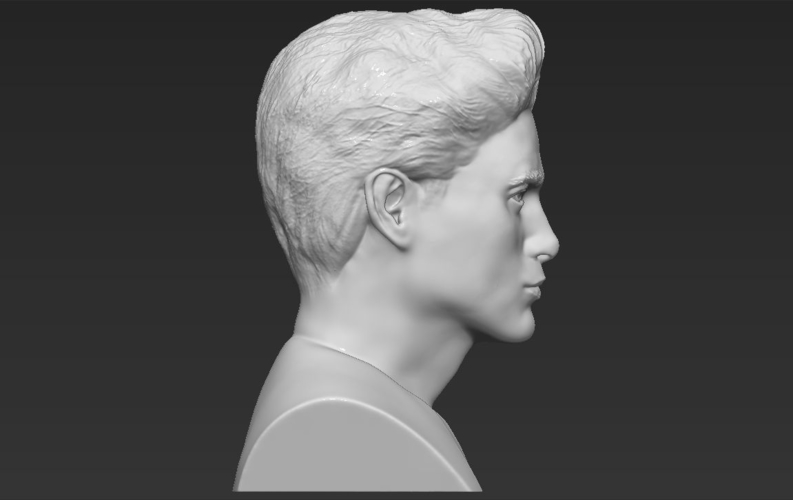 Edward Cullen Twilight Pattinson bust full color 3D printing 3D Print 231826