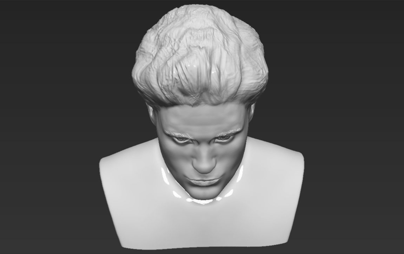 Edward Cullen Twilight Pattinson bust full color 3D printing 3D Print 231830