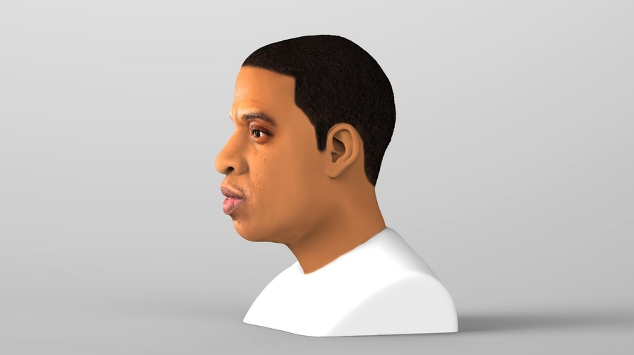 Jay-Z bust ready for full color 3D printing 3D Print 231895