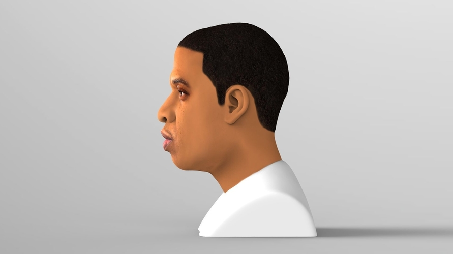 Jay-Z bust ready for full color 3D printing 3D Print 231896