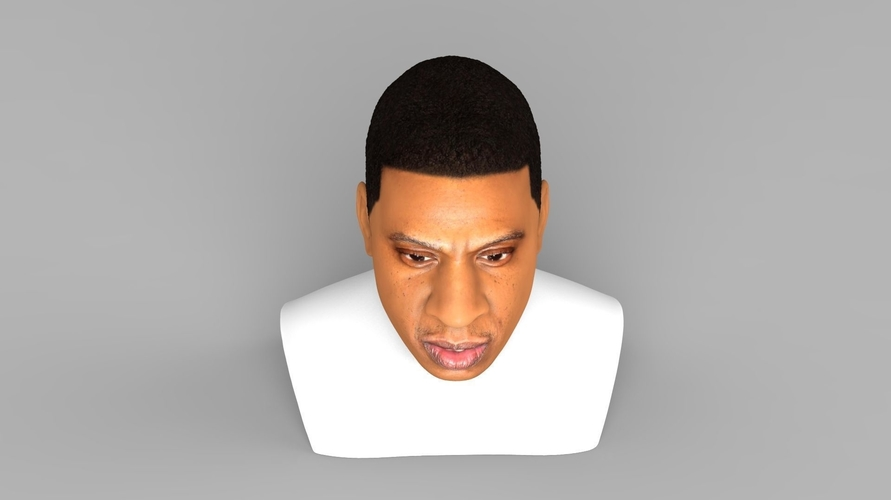 Jay-Z bust ready for full color 3D printing 3D Print 231902
