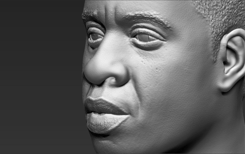 Jay-Z bust ready for full color 3D printing 3D Print 231914