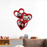 Small Family hearts photo frame 3D Printing 231979