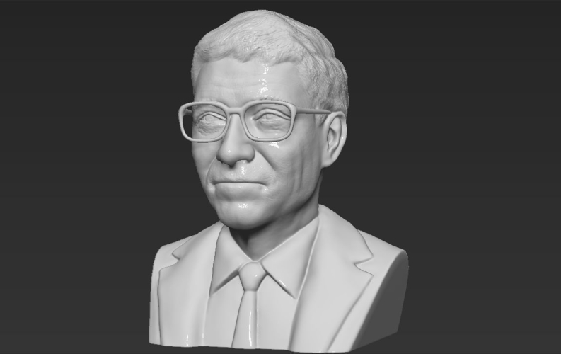 Bill Gates bust ready for full color 3D printing 3D Print 232099