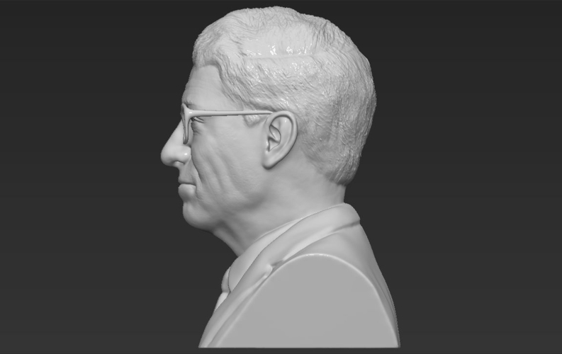 Bill Gates bust ready for full color 3D printing 3D Print 232101