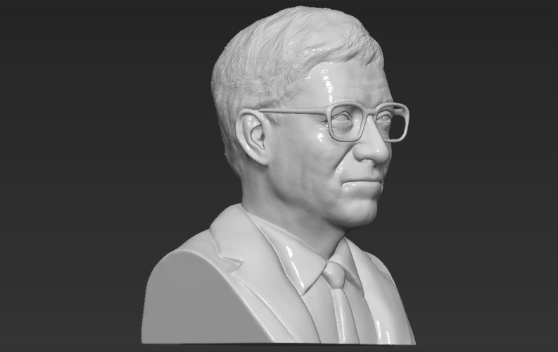 Bill Gates bust ready for full color 3D printing 3D Print 232102