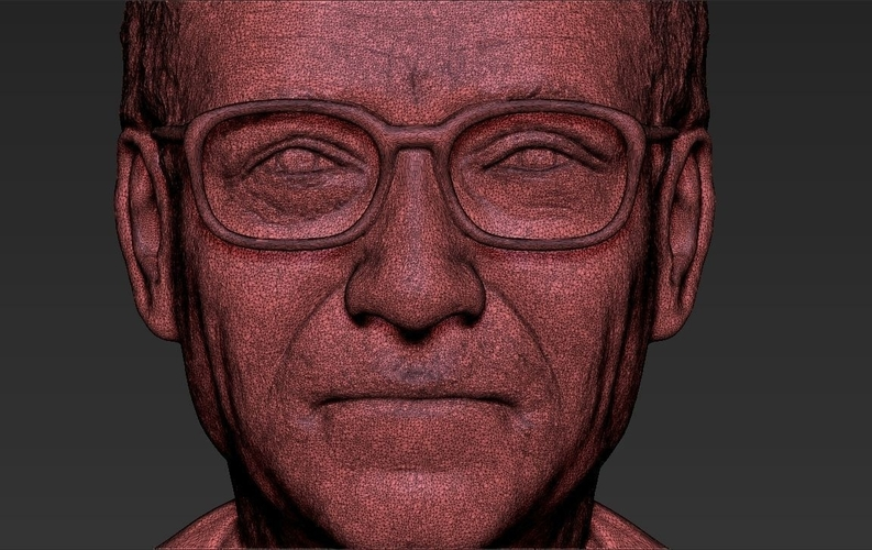 Bill Gates bust ready for full color 3D printing 3D Print 232107