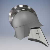 Small MEDIEVAL HELMET, EPIC HELMET , MEDIEVAL COLLECTIBLES 3D Printing 232178