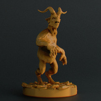 Small GhoulMan 3D Printing 23239
