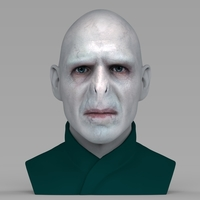 Small Lord Voldemort bust ready for full color 3D printing 3D Printing 233036