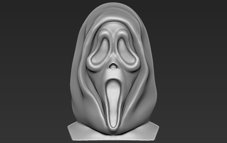 Ghostface from Scream bust 3D printing ready stl obj 3D Print 233106