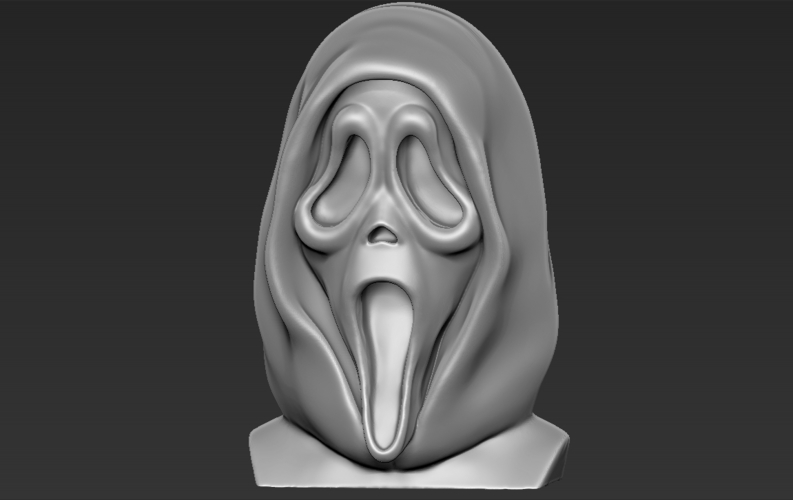 Ghostface from Scream bust 3D printing ready stl obj 3D Print 233107