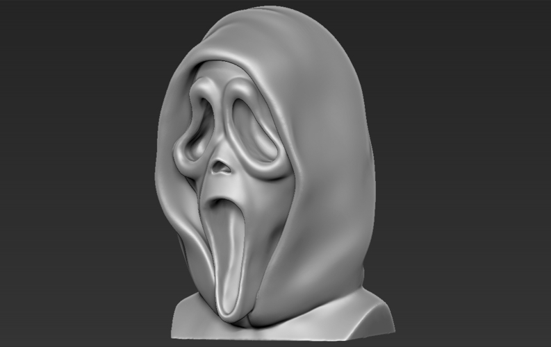 Ghostface from Scream bust 3D printing ready stl obj 3D Print 233108